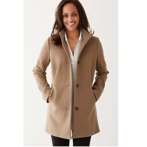 J. Jill TALL Berkshires Coat, Beige